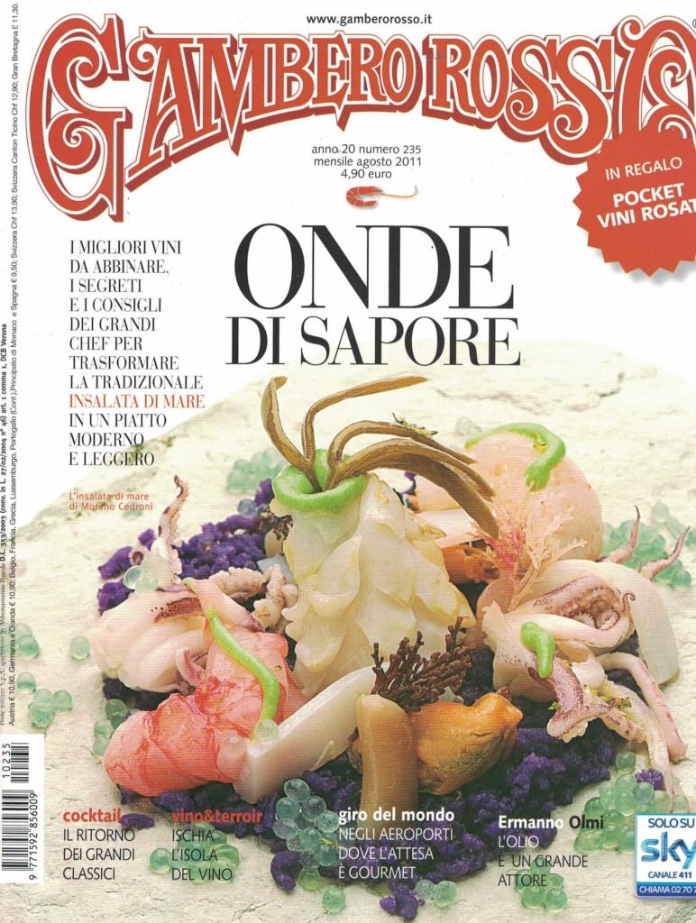 Gambero Rosso 2011-copertina
